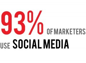 Motionmill - 93 percent of marketeers use social media