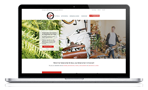 Website laten maken Antwerpen - Fietsenwinkel De Geus