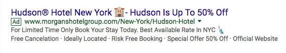 Gebruik van emoji's in Google Ads online advertenties - wel of niet