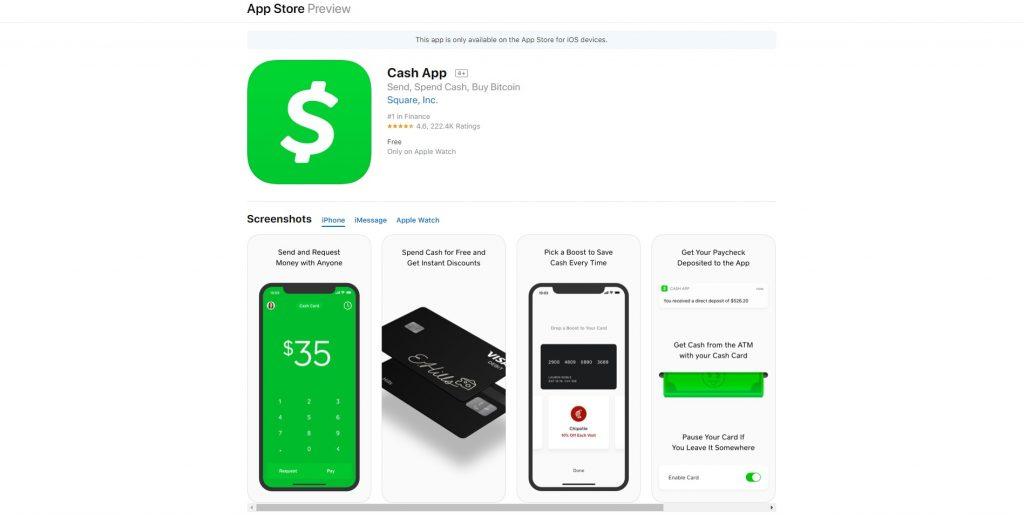 Square Cash, goed gebruik van stemsturing in een app met Siri en Apple