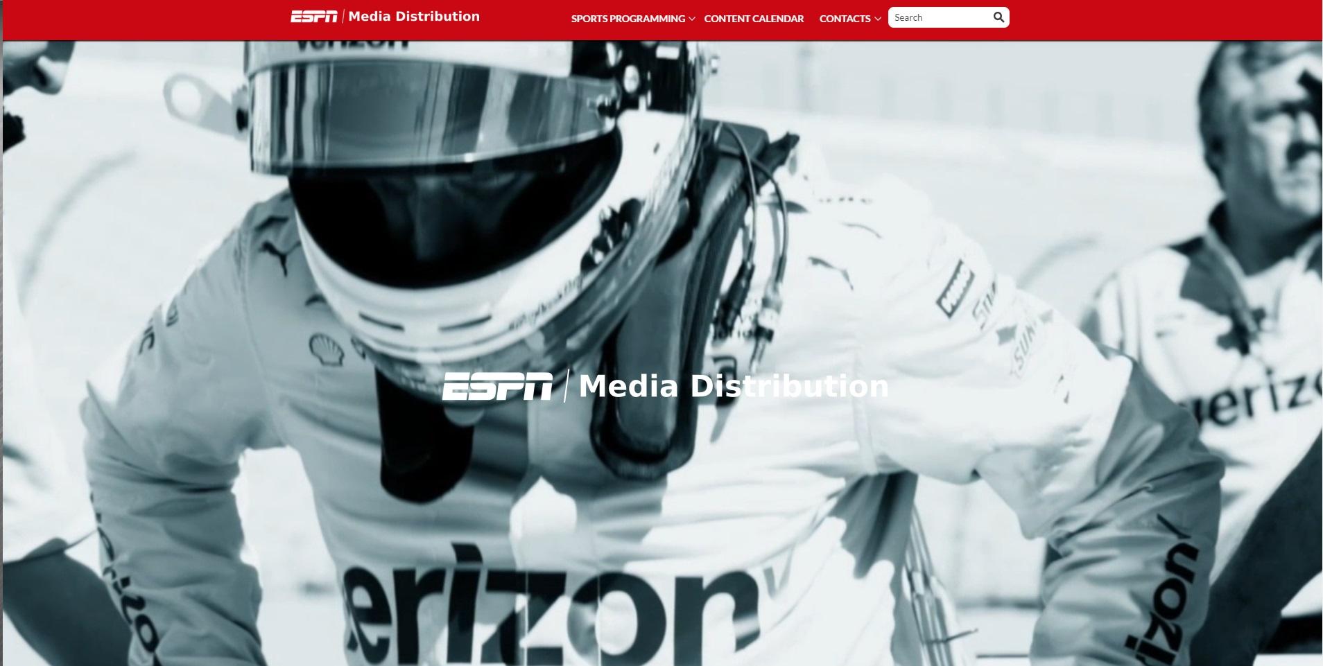 Mooie website van ESPN