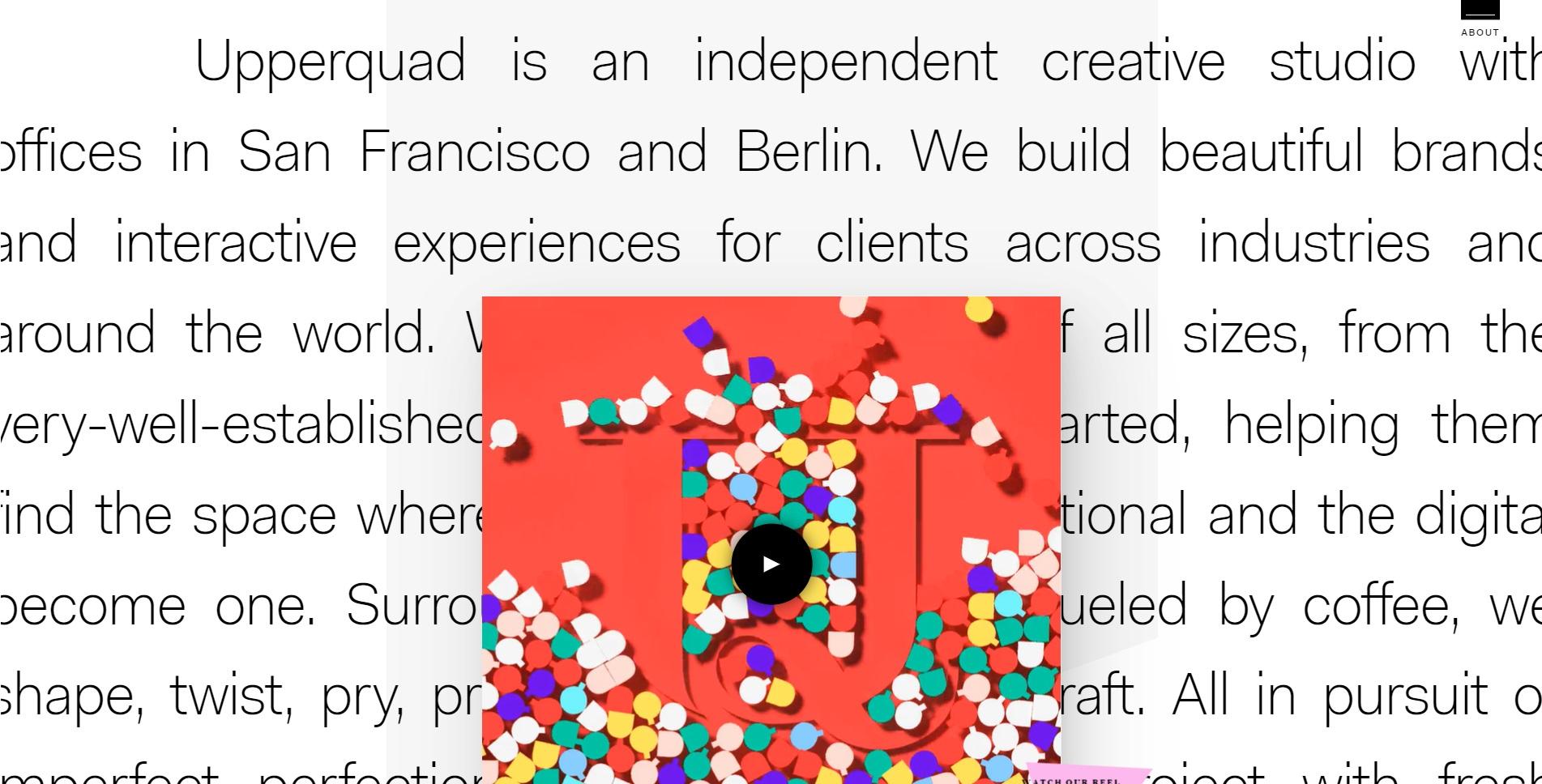 Mooie website van Upperquad