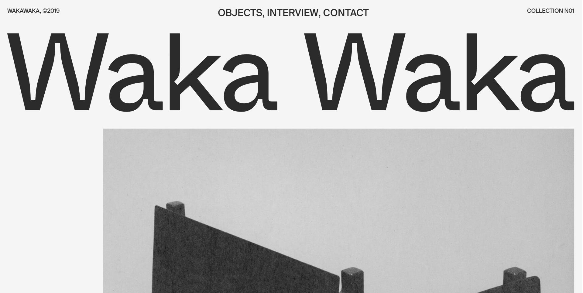 Mooie website van Waka Waka