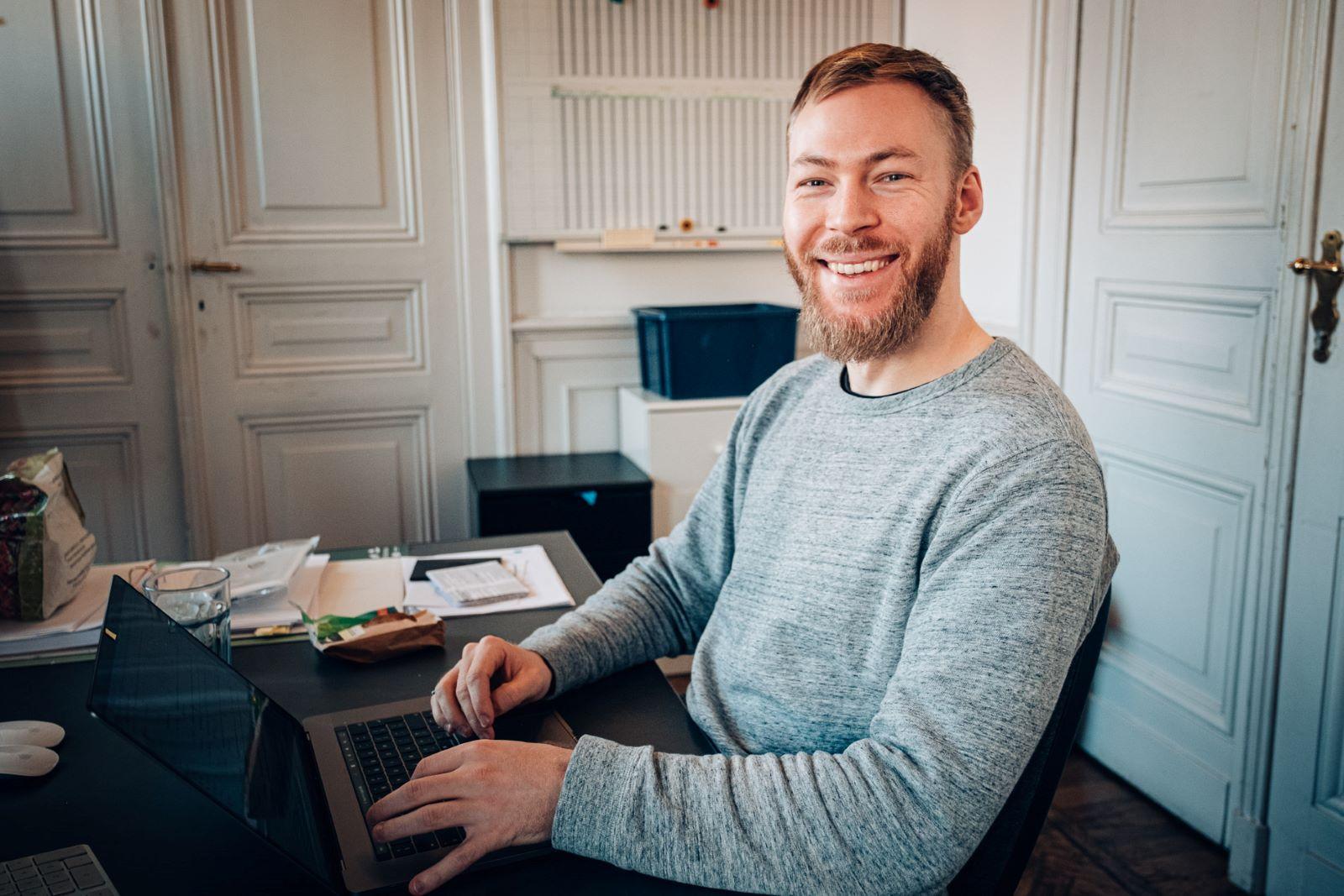 Frederik Defyn, digital marketeer bij Motionmill Antwerpen