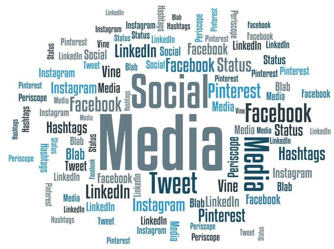 Logo's van social media
