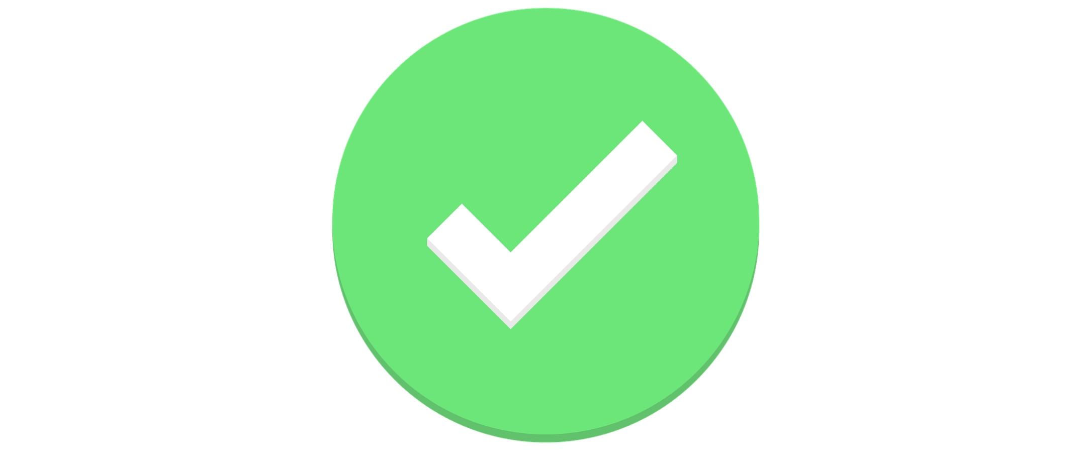 Groene check