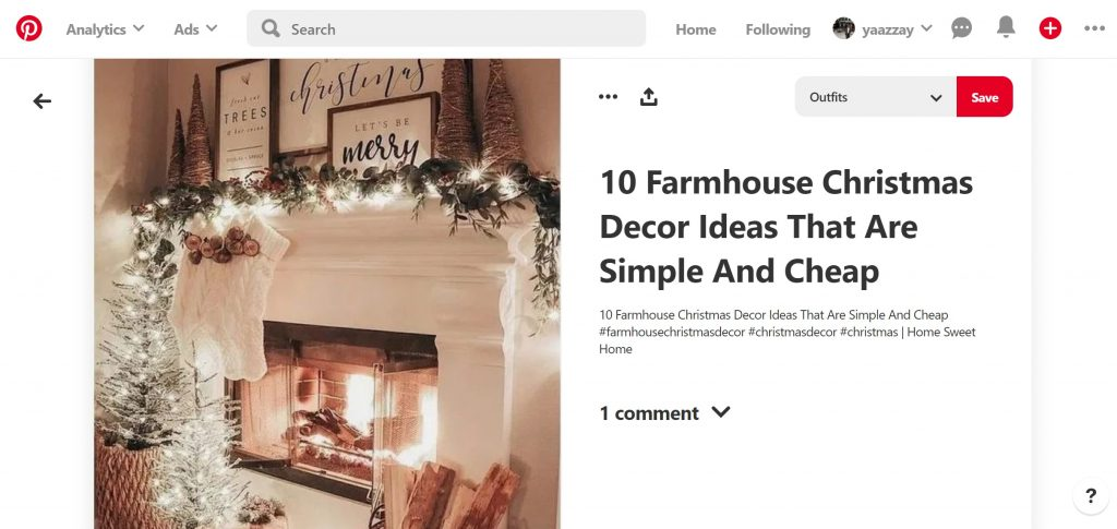 how to decoratie kerstmis post pinterest