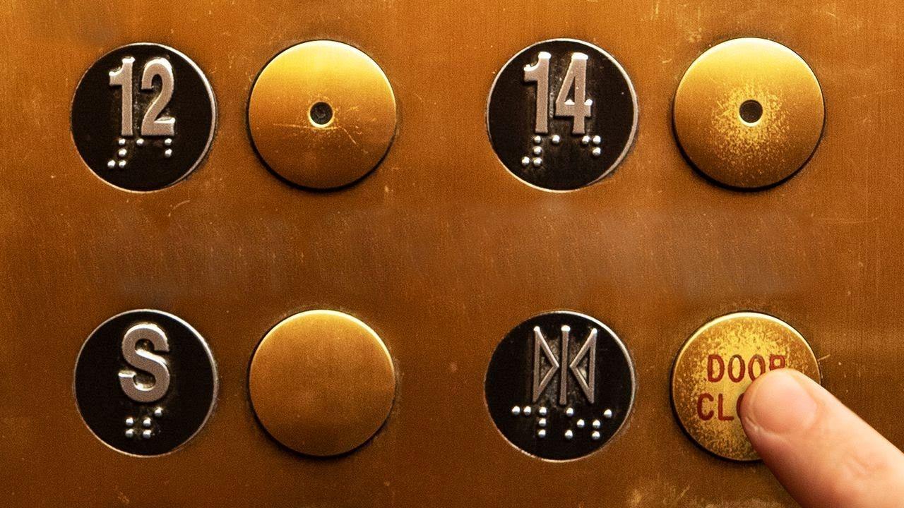 Slecht ontworpen liftknop