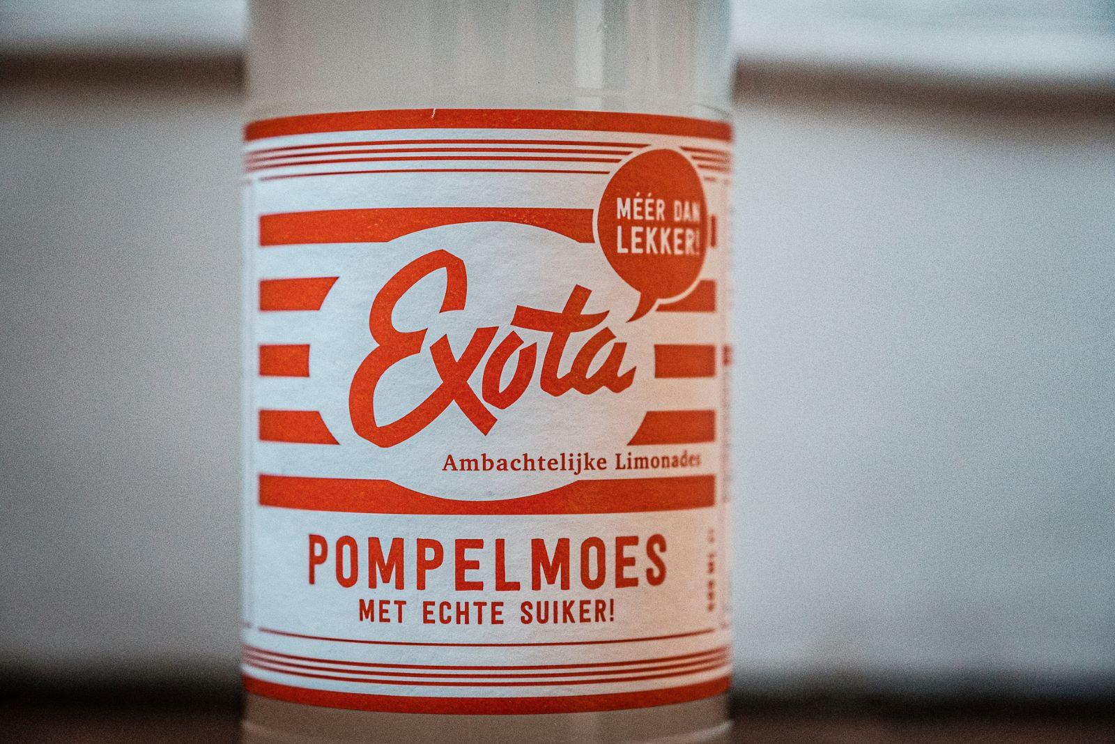 Exota limonade met echte suiker