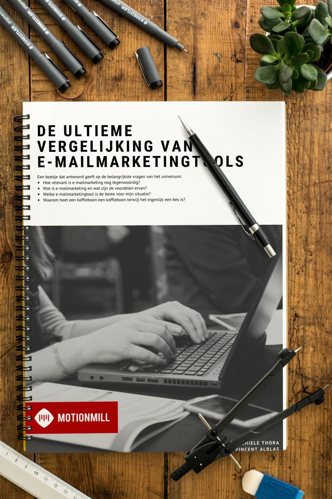 Vergelijking mailingsoftware kennisboek