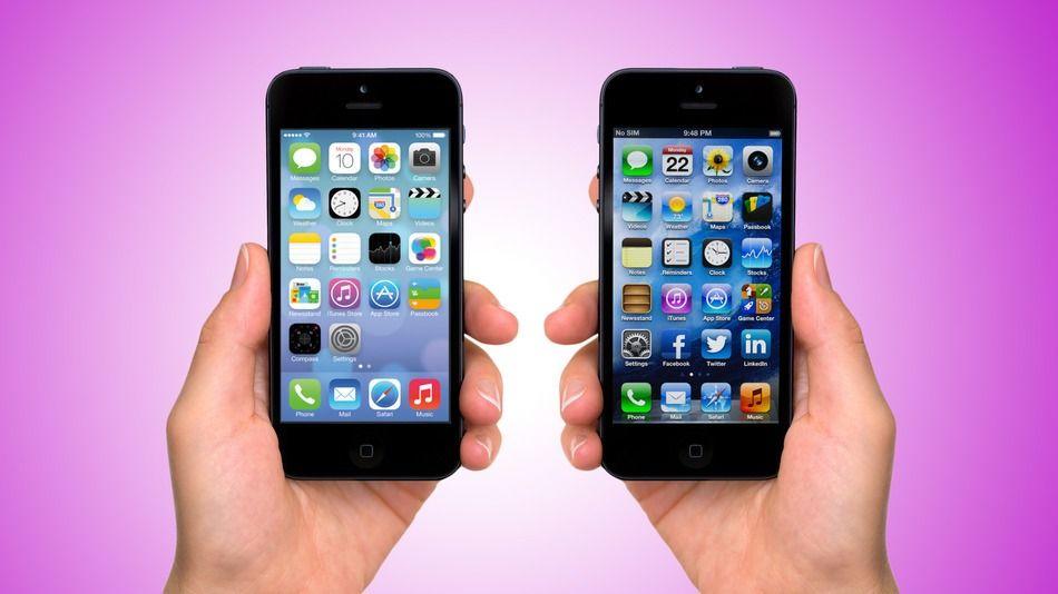 Apple iOS 7 en iOS 6