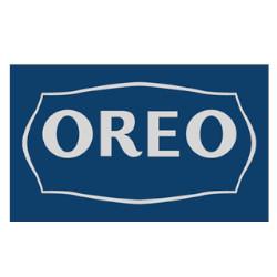 Logo van Oreo in de jaren vijftig