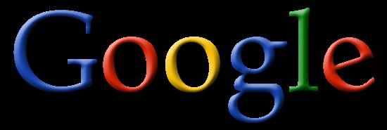 Oud logo Google