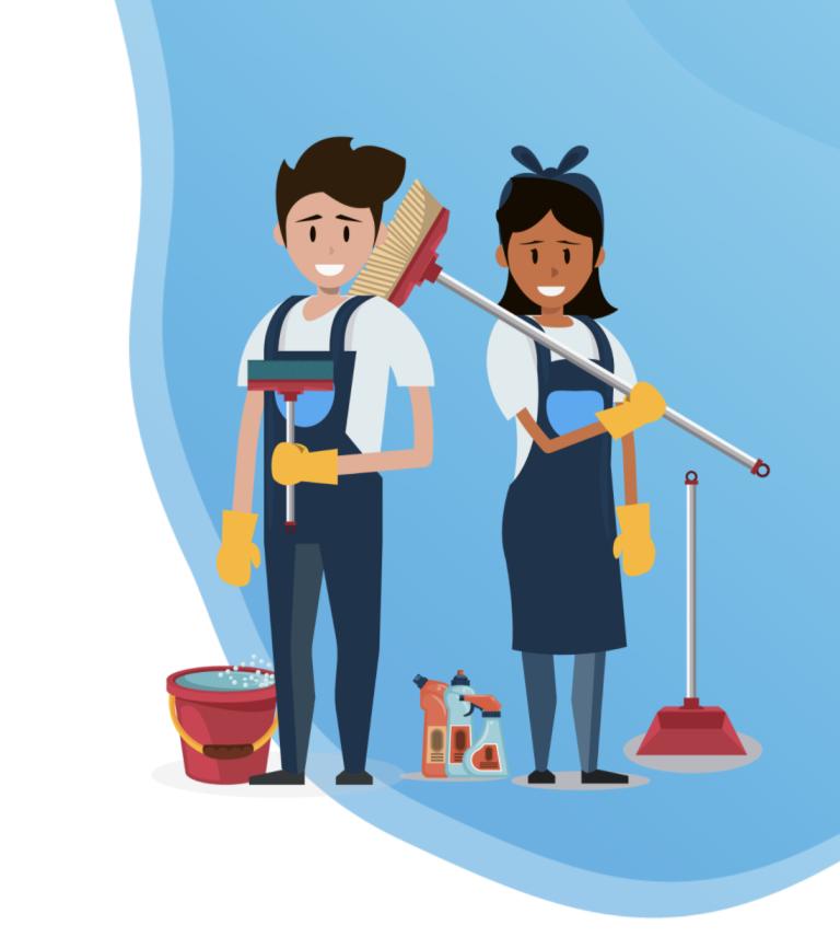 De ideale gebruikerservaring en een nieuwe huisstijl voor 365 Cleanit
