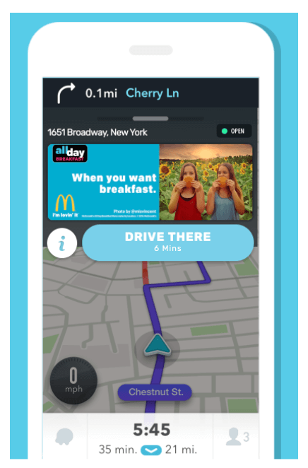 Adverteren in Waze Ads