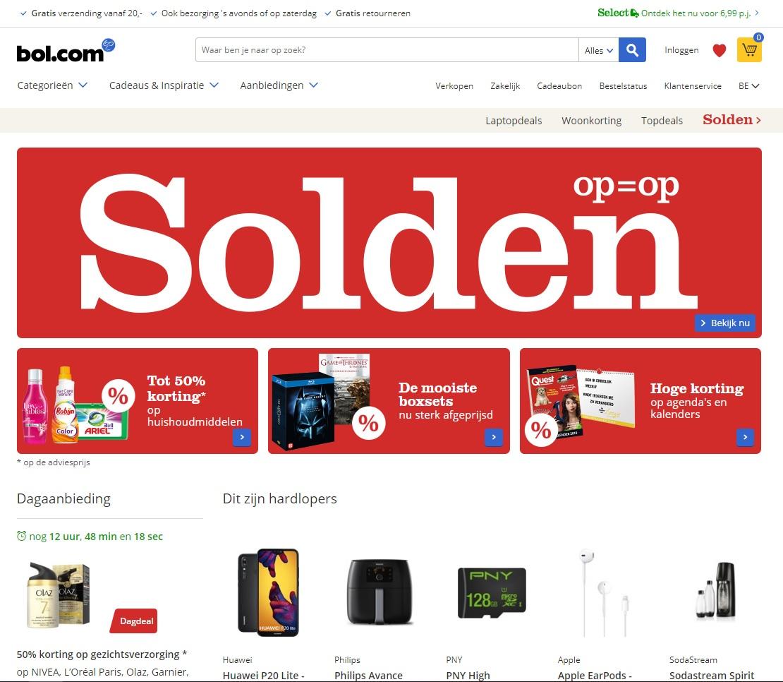 Bol.com webshop