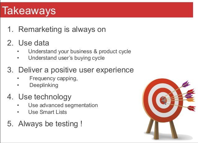 Act on your data with Remarketing & create Advanced Audiences