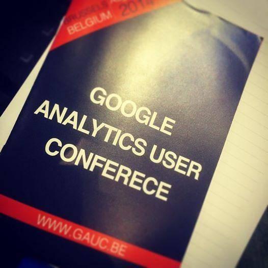 Google Analytics Users Conference programma