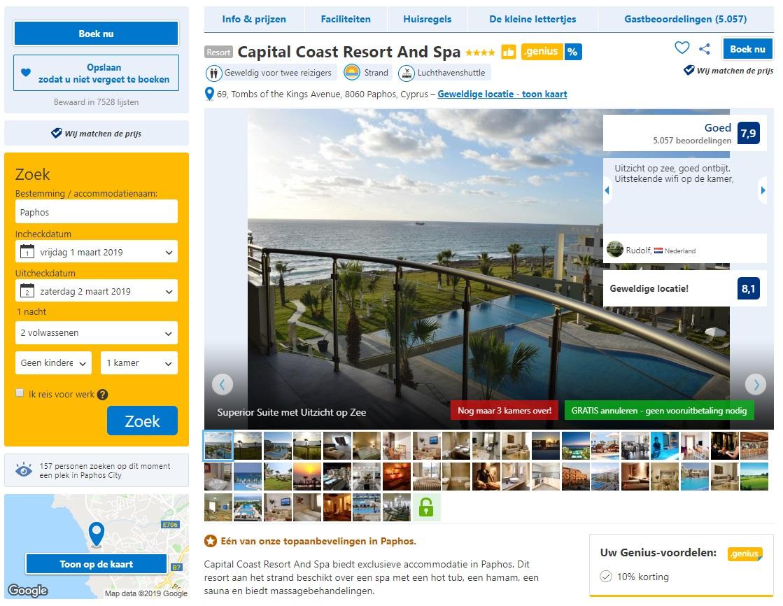 Hyperpersonalisatie Booking.com