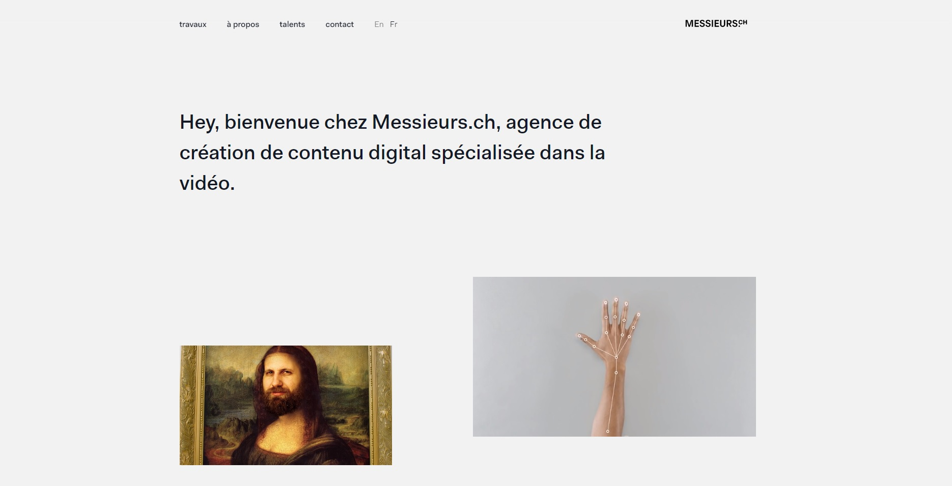 Webdesign Messieurs