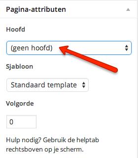 WordPress URL-structuur