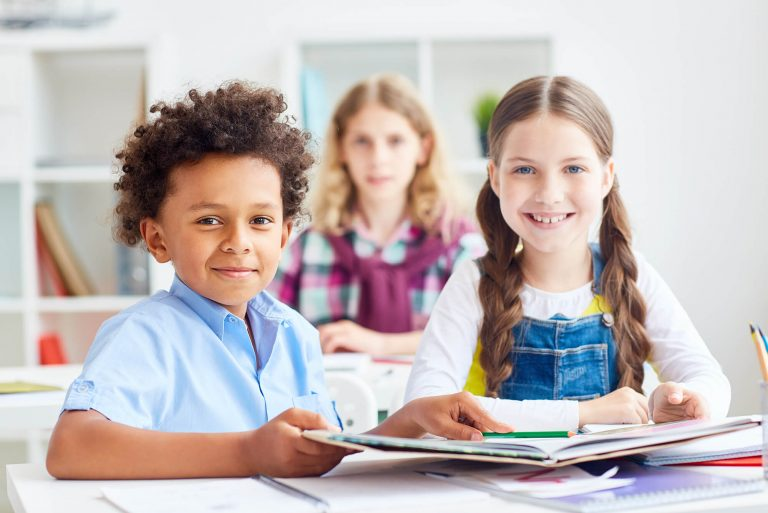 Een kleurrijke website met een hart voor kinderen