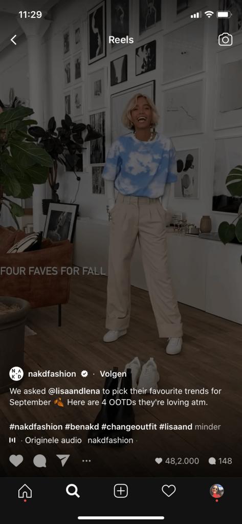 Instagram Reels voor bedrijven - Lisa and Lena