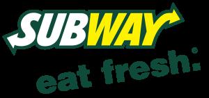 Logo Subway met slogan Eat Fresh
