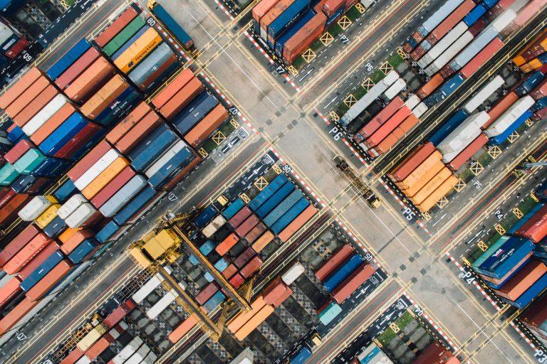 Frisse website voor de logistieke sector