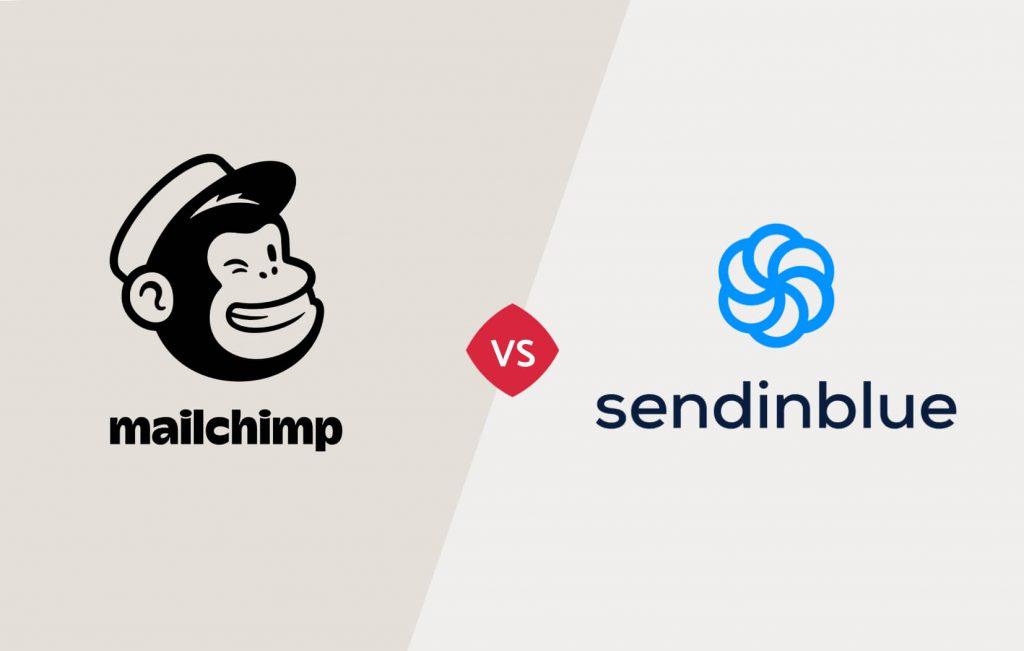Vergelijking Mailchimp en Sendinblue e-mailmarketing