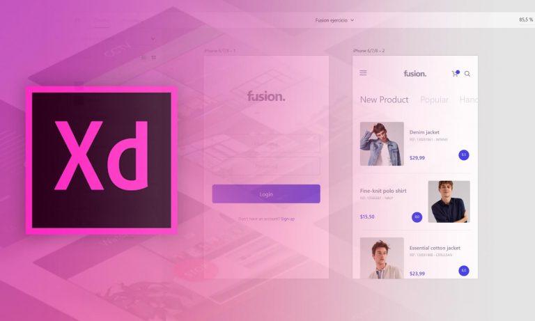Waarom Adobe XD gebruiken - voordelen Adobe XD
