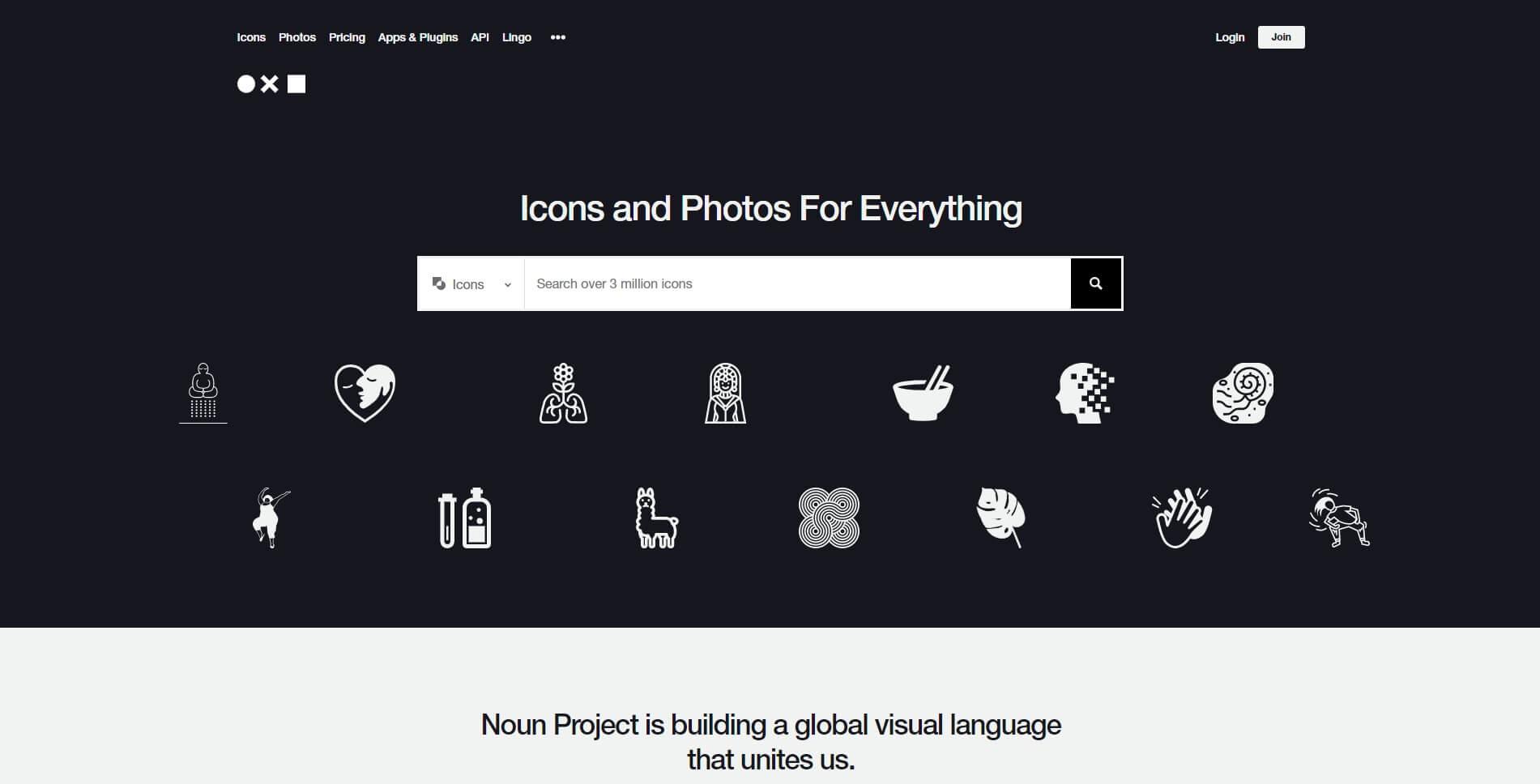 Gratis stockfoto's Noun Project