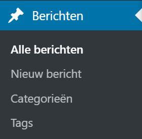 WordPress-website maken Berichten