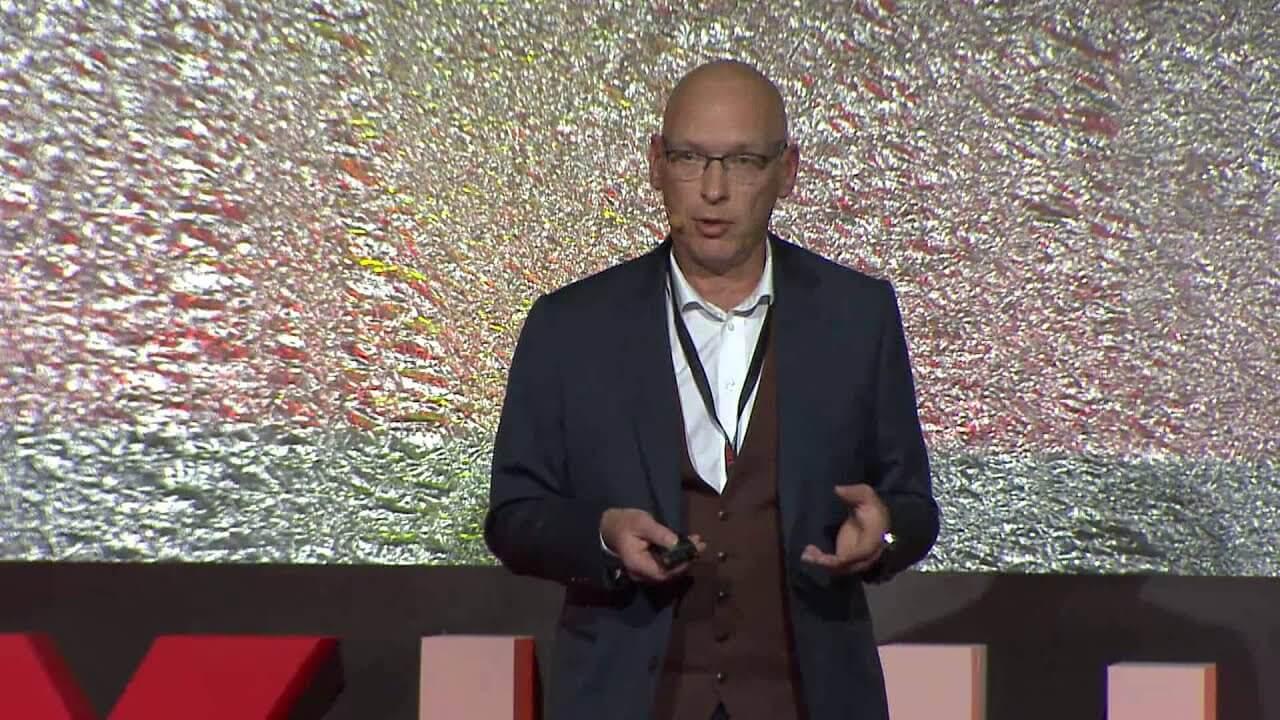 Peter Perceval Inspiring Speech TedX Hasselt