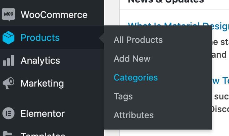 WooCommerce productcategorieën toevoegen