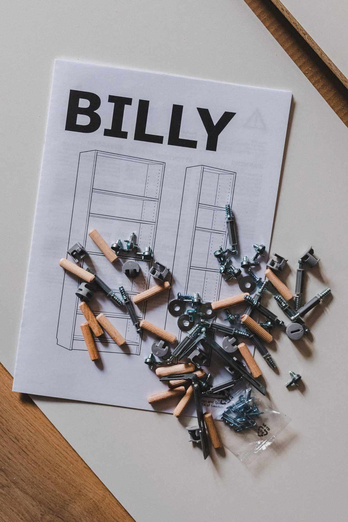 IKEA Billy handleiding