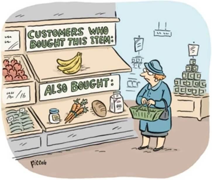 Inspirerende grappige illustratie e-commerce
