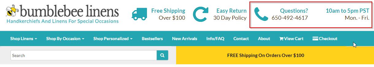 WooCommerce webshop hulplijn