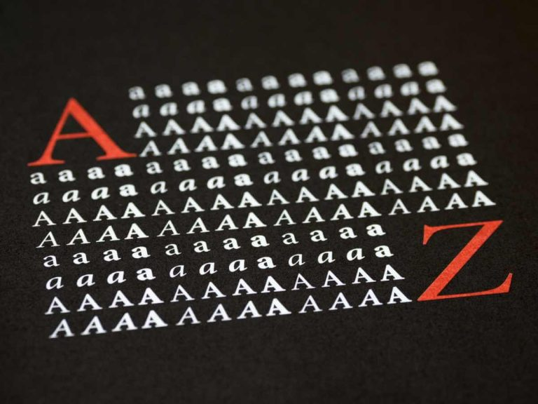 Meest gebruikte lettertypes op internet