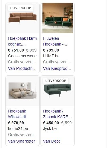 Google Shopping Ads korting