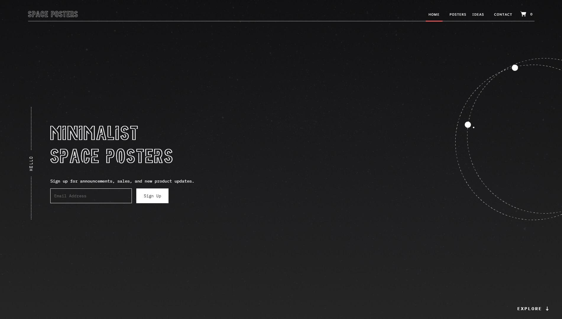 Bijzondere webwinkel designs