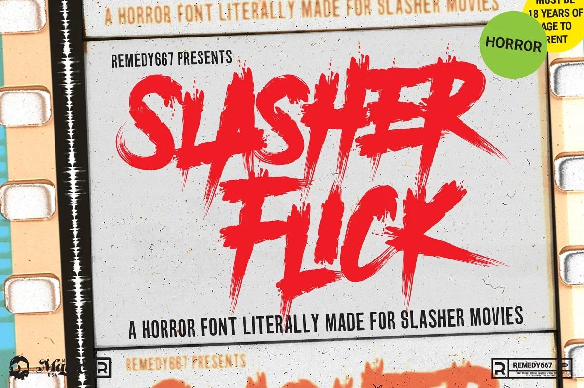 Halloween font horror lettertypes