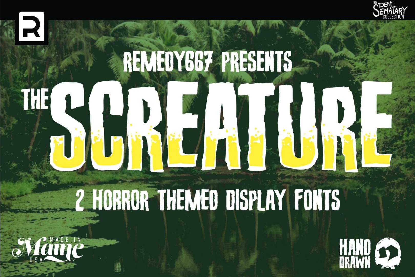 Halloween lettertype