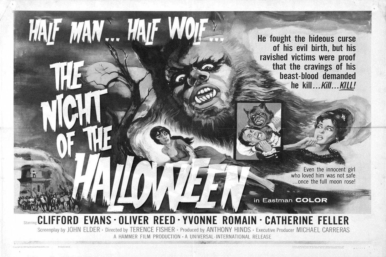 Horror lettertype Halloween