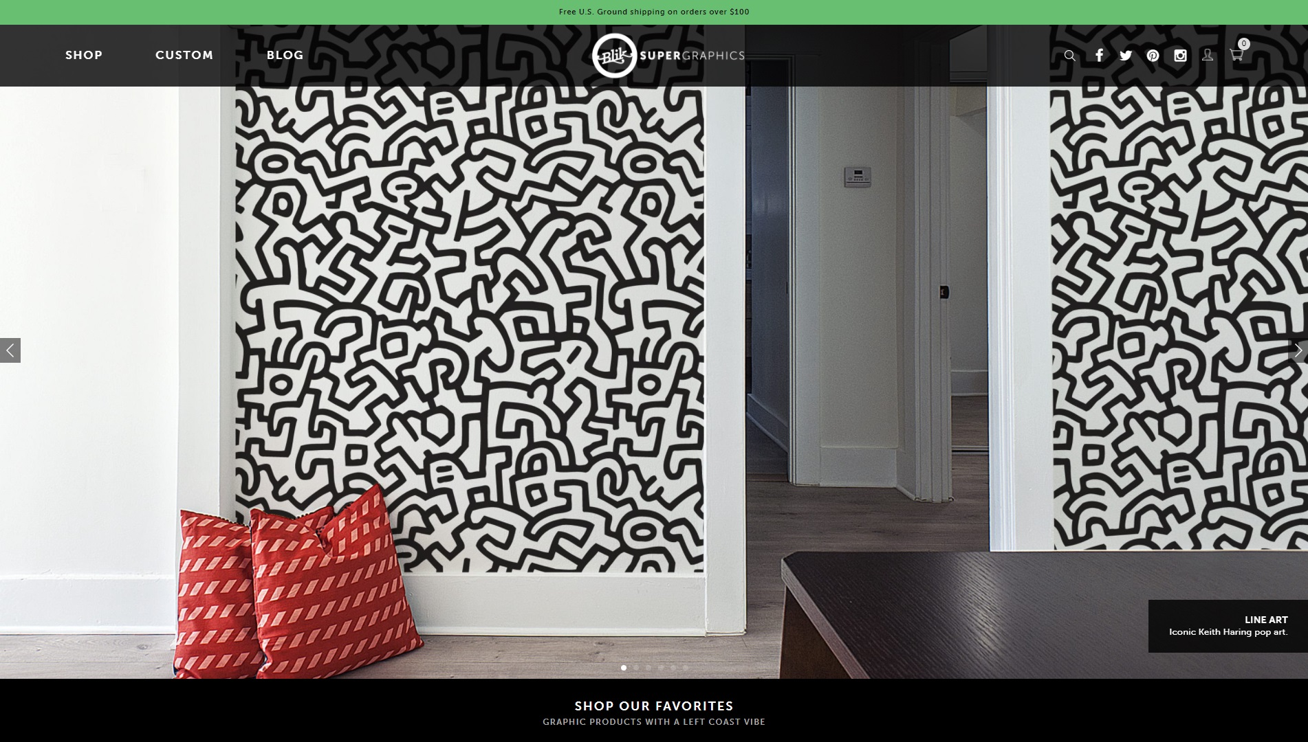 Mooie webshop Blik supergraphics